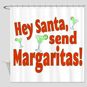Send Margaritas Shower Curtain