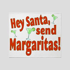 Send Margaritas Throw Blanket