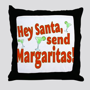 Send Margaritas Throw Pillow