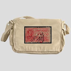 Espresso Messenger Bag