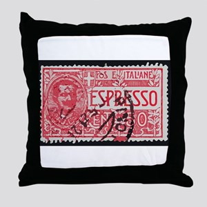 Espresso Throw Pillow