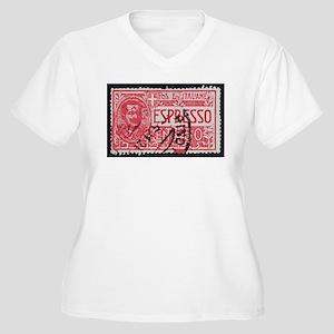 Espresso Women's Plus Size V-Neck T-Shirt