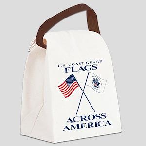 Coast Guard Flags Across America Canvas Lunch Ba