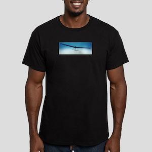 DLG Silhouette Men's Fitted T-Shirt (dark)