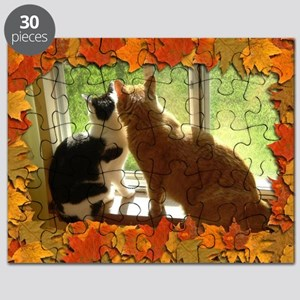 Autumn Cats/Orange Tabby Puzzle