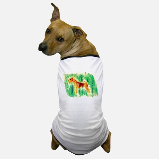 Watercolor Lakeland Dog T-Shirt