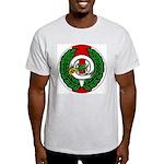 Midrealm Chiv Laurel 1 Ash Grey T-Shirt