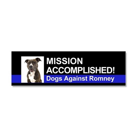 Mission Accomplished magnet - Pittie