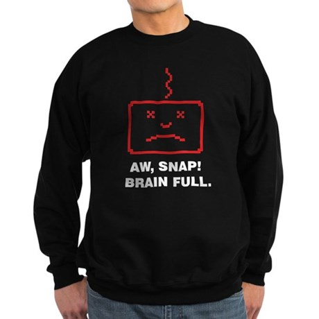 Brain full Sweatshirt (dark)