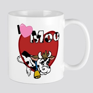 I Love Moo Mug