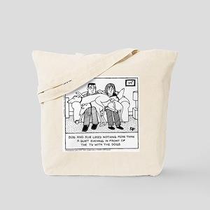 Lap Dogs Tote Bag