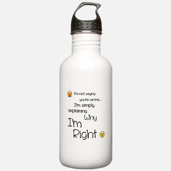 I'm right Sports Water Bottle