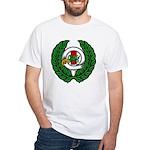 Midrealm Chiv Laurel 2 White T-Shirt