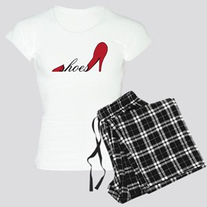 Red High Heel Shoe Women's Light Pajamas