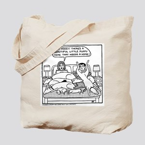 On The Bed Tote Bag
