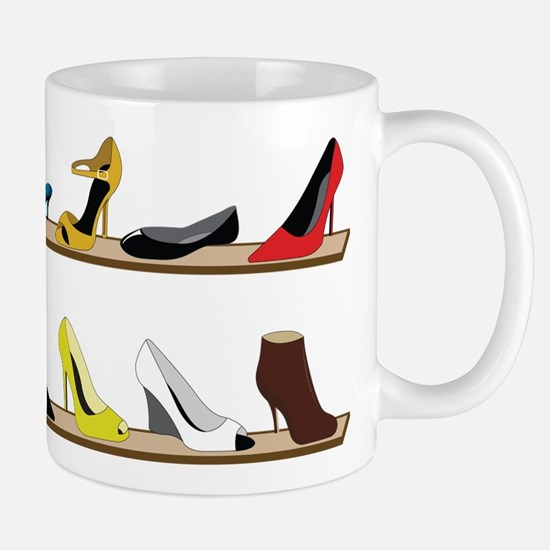 Heeled Shoe Stack Mug
