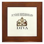 Junior Bridesmaid DIVA Framed Tile
