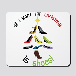 Shoes for Christmas Mousepad