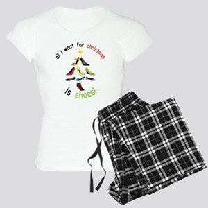 Shoes for Christmas Women's Light Pajamas