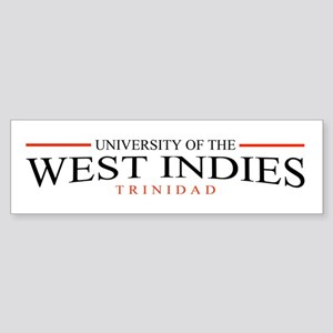 University of the W.I. Sticker (Bumper)