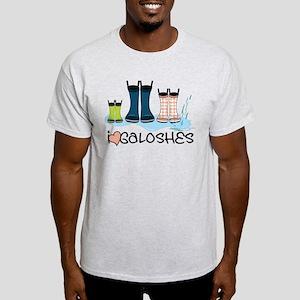 I Love Galoshes Light T-Shirt