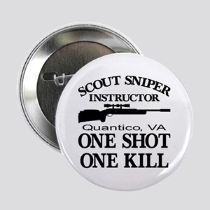 """Scout-Sniper Instructor 2.25"""" Button"""