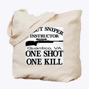 Scout-Sniper Instructor Tote Bag