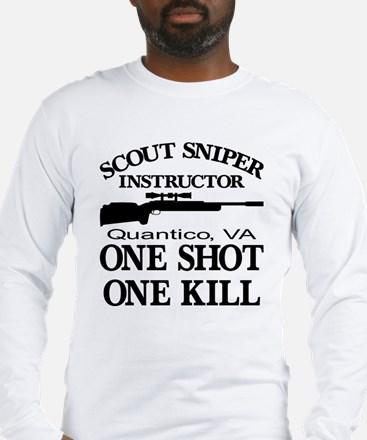 Scout-Sniper Instructor Long Sleeve T-Shirt