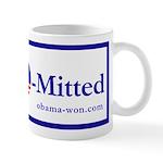 """Romney """"O-Mitted"""" mug"""