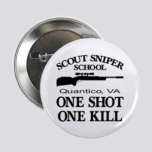 "Scout-Sniper School 2.25"" Button"