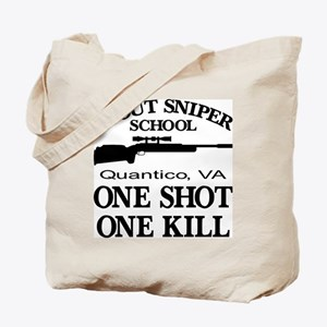 Scout-Sniper School Tote Bag