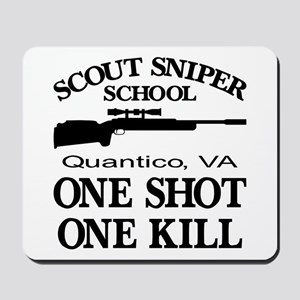 Scout-Sniper School Mousepad