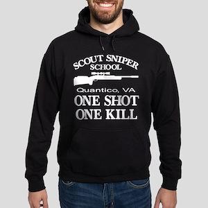 Scout-Sniper School Hoodie (dark)