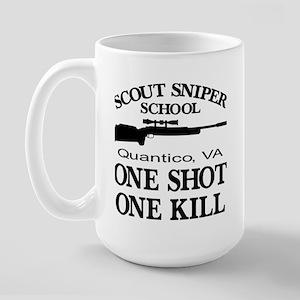 Scout-Sniper School Large Mug
