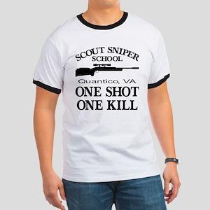 Scout-Sniper School Ringer T