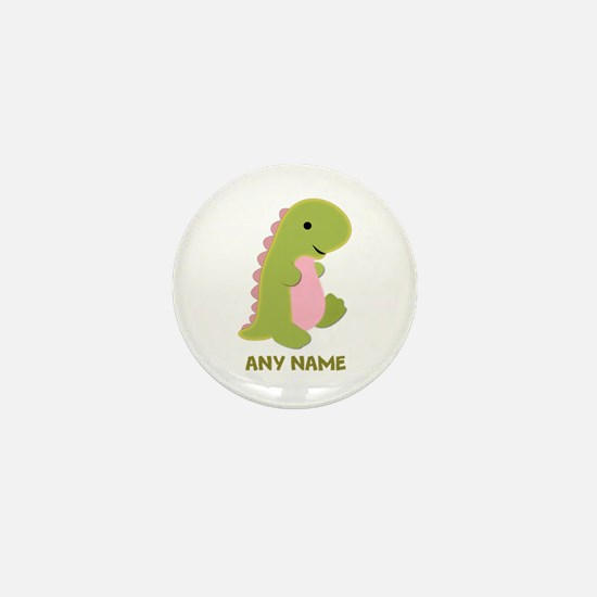 Customizable Dinosaur Print Mini Button