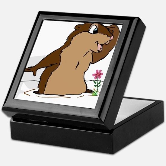 Groundhog Day Shadow Keepsake Box