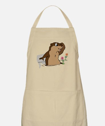 Groundhog Day Shadow Apron