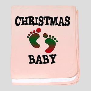 Christmas Baby baby blanket