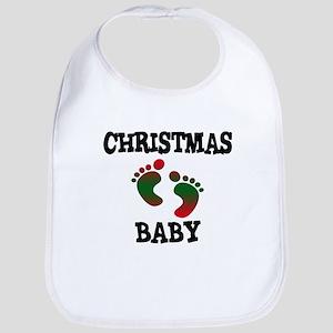 Christmas Baby Bib