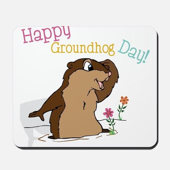 Happy Groundhog Day Mousepad