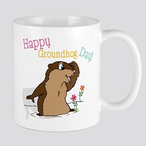 Happy Groundhog Day Mug