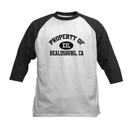 Property of HEALDSBURG Kids Baseball Jersey