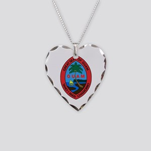 Necklace Heart of Guam Charm