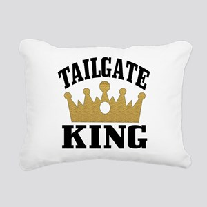 tailgate king 2 Rectangular Canvas Pillow
