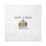NY DIVA Queen Duvet