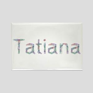 Tatiana Paper Clips Rectangle Magnet