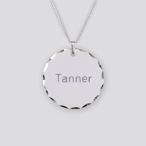Tanner Paper Clips Necklace Circle Charm