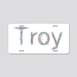 Troy Paper Clips Aluminum License Plate