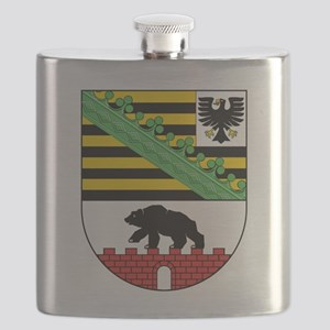 Coat of arms of Sachsen-Anhalt Flask